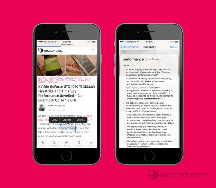Hướng dẫn sử dụng ứng Từ điển mới trên iOS 10 4