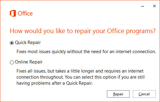 "Hướng dẫn sửa lỗi ""Please wait while Windows configures Microsoft Office"" trên Windows 10 2"