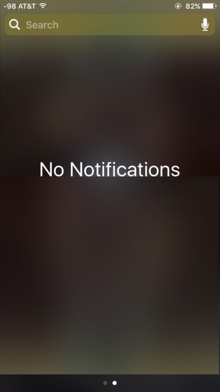 Cách xóa Notification trên iOS 10 3