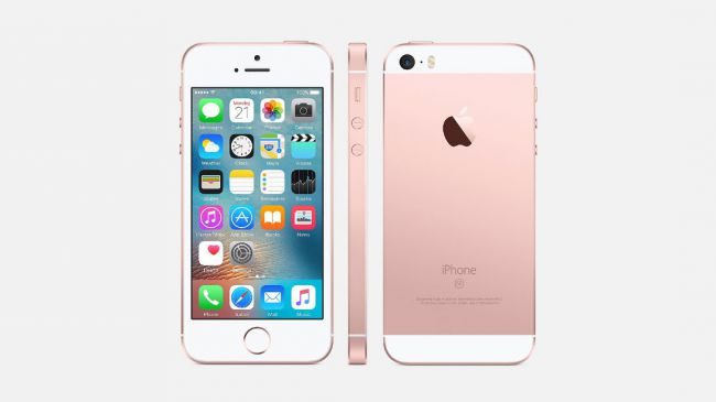 iPhone SE Rose Gold