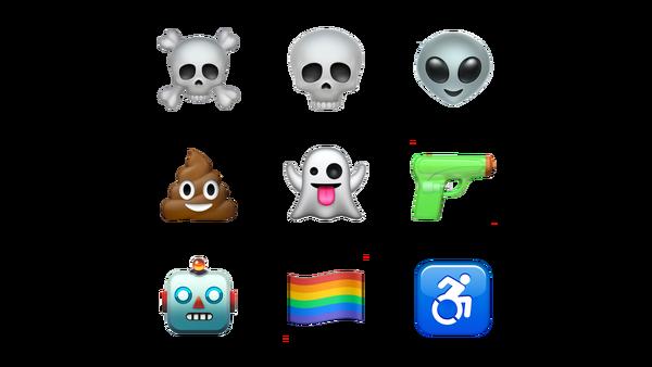 Emoji phiên bản iOS 10.2