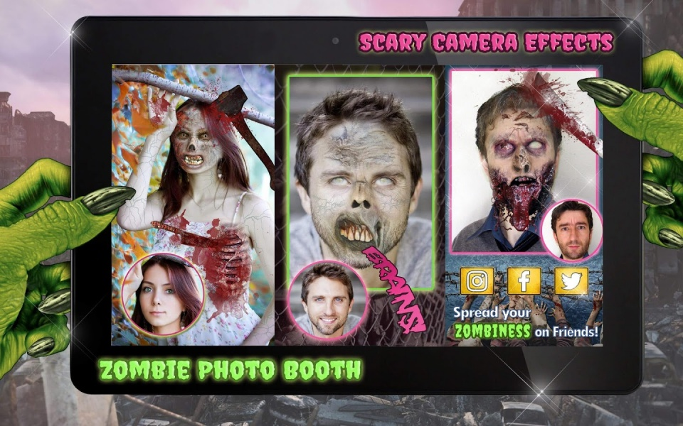 3. Scary Booth Me
