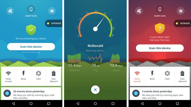Phần mềm quét viruts trên điện thoại: Avast Mobile Security