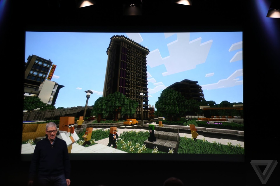 Minecraft trên Apple TV