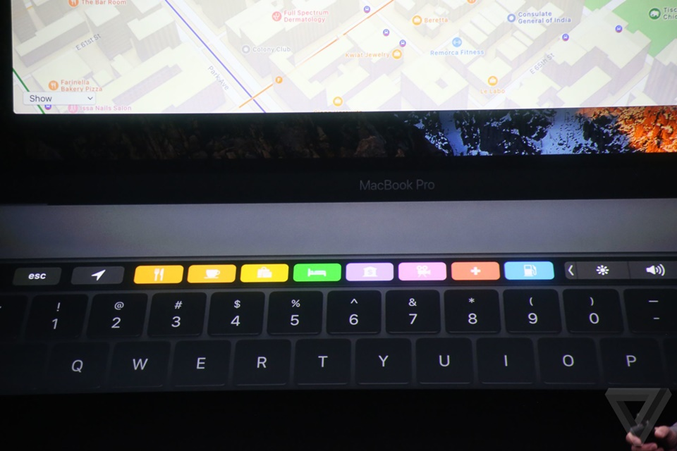 Touch Bar của Macbook Pro mới 21