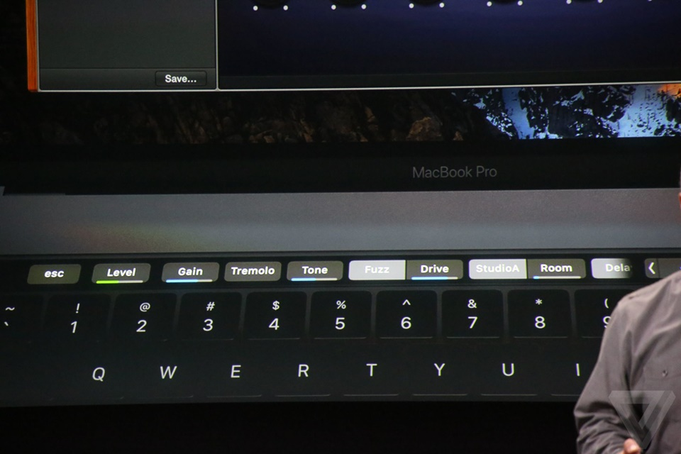 Touch Bar của Macbook Pro mới 23