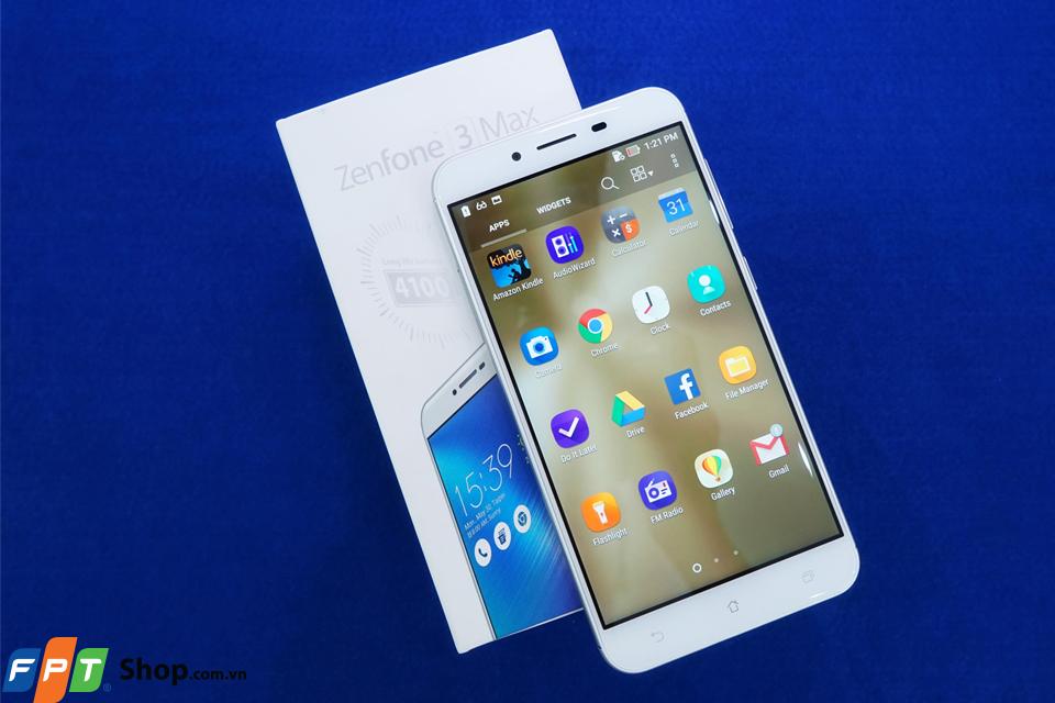 Zenfone 3 max mới nổi bật với màn hình lớn