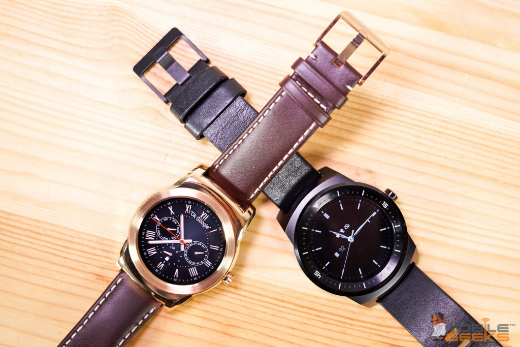 LG Watch Urbane và G Watch R
