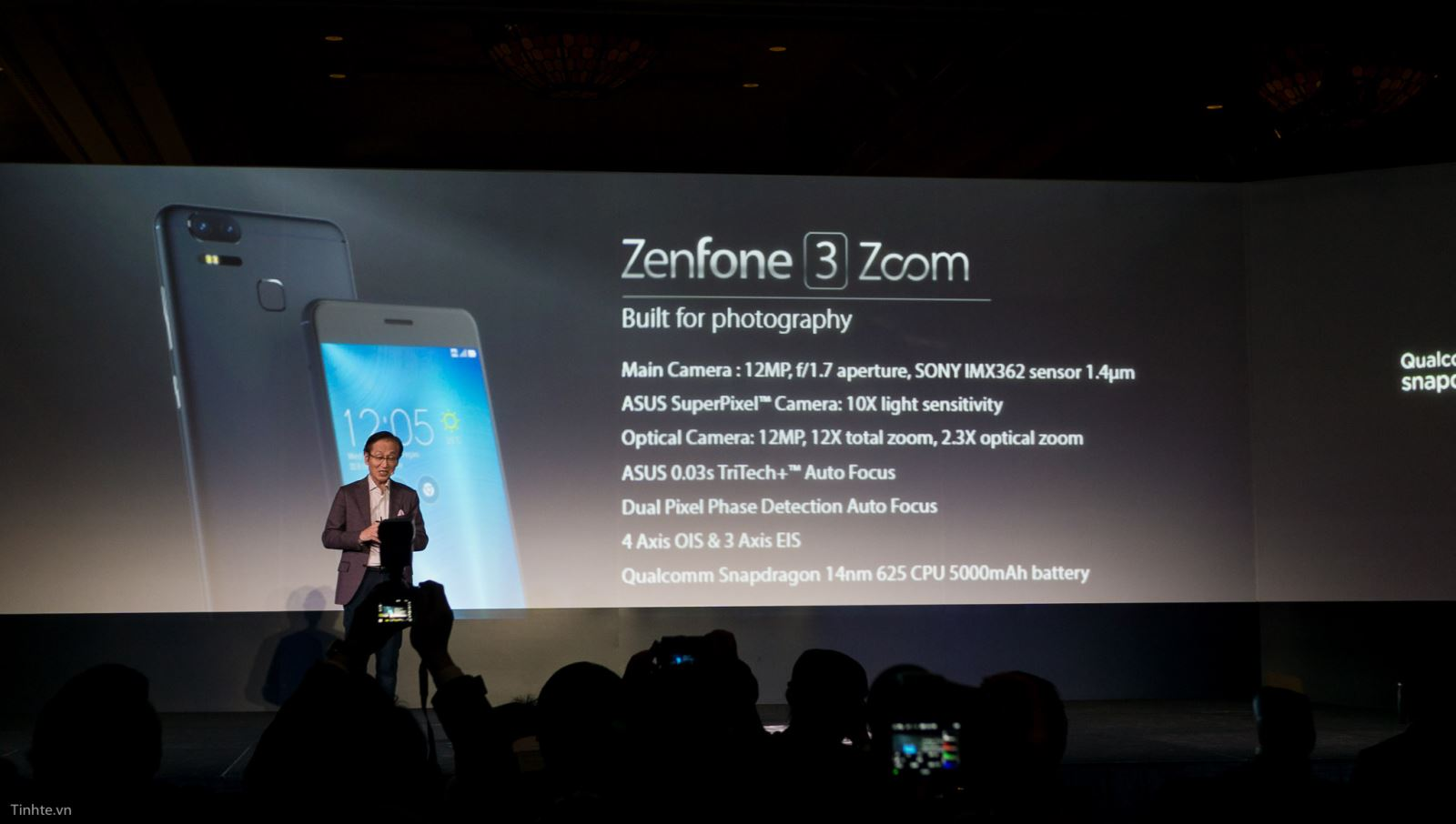 Cập nhật Android Nougat cho Asus Zenfone 3 Zoom