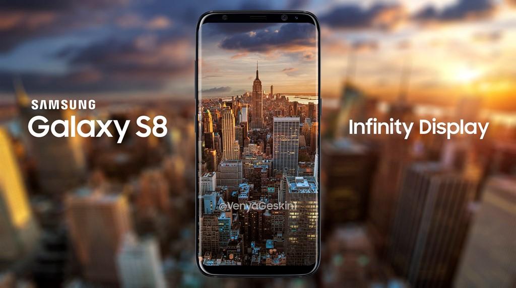 Samsung Galaxy S8 có màn hình lớn, nhưng lại