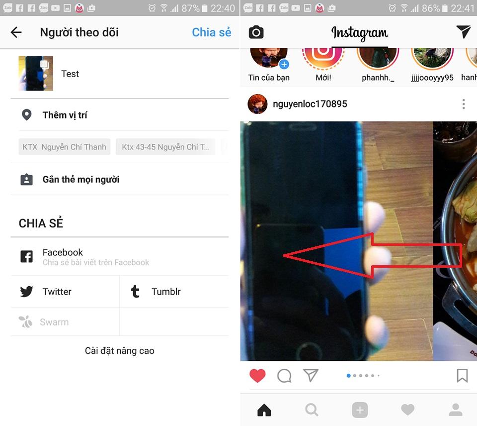 Hướng dẫn đăng nhiều ảnh, video lên Instagram