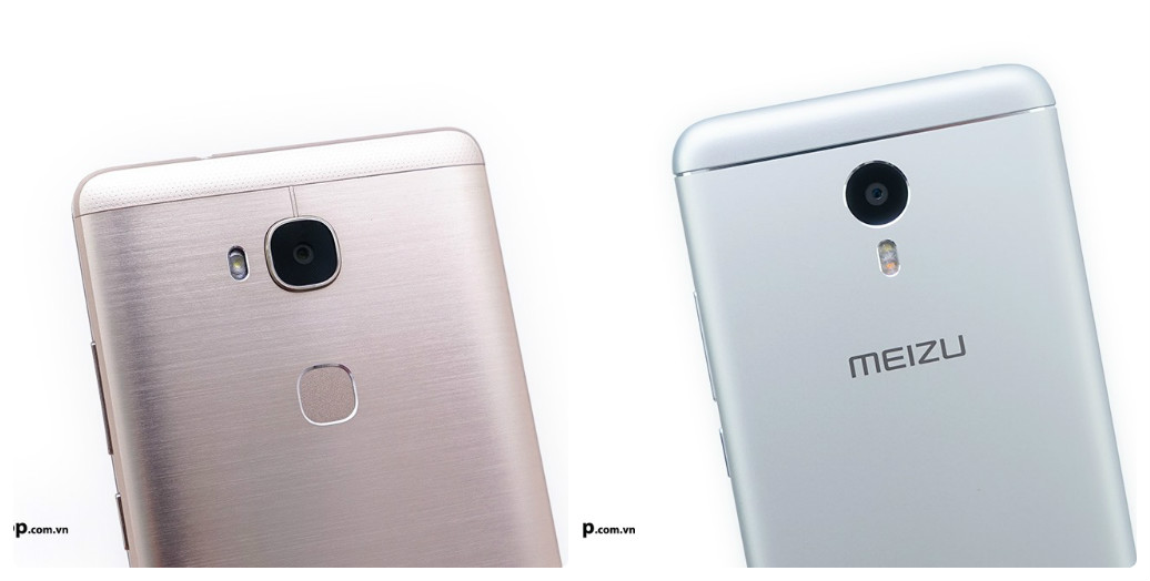 So sánh Meizu M3 Note vs Huawei GR5 8