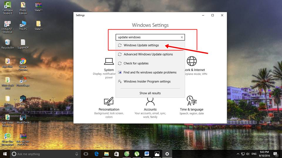 Tạo wifi Hotspot Windows 10 3
