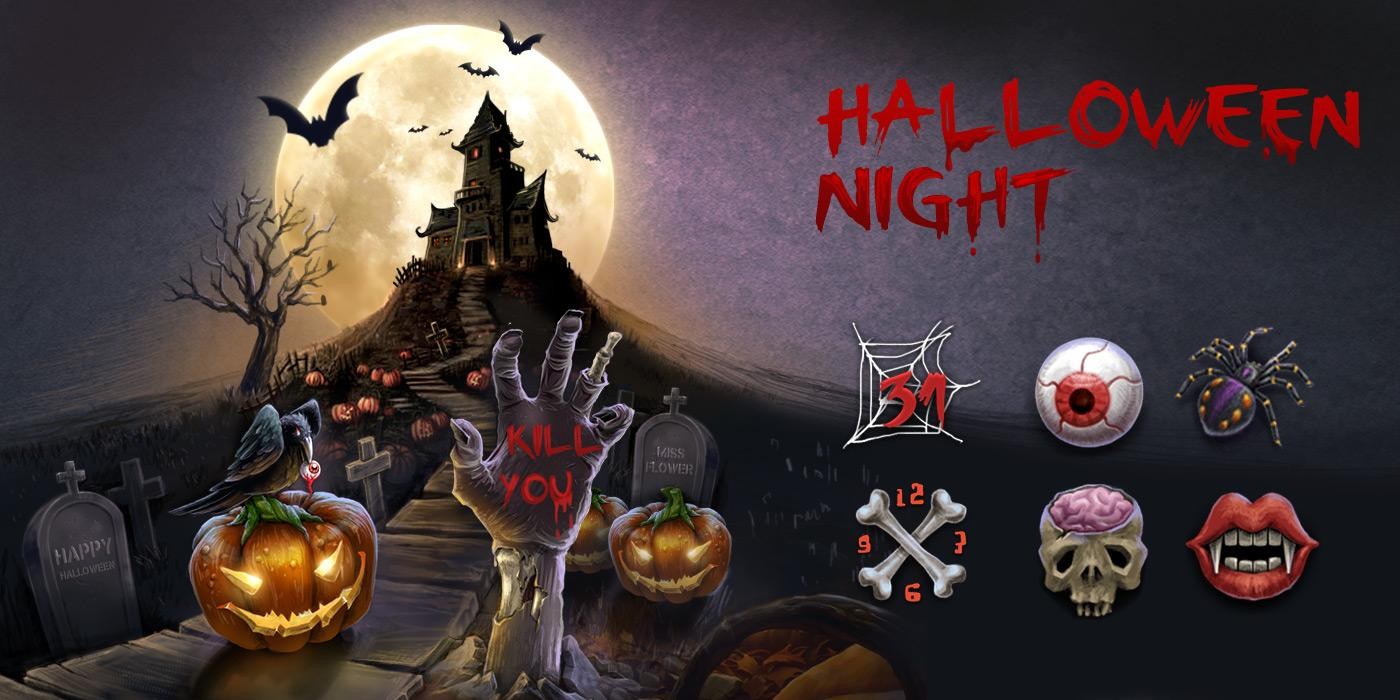 Bộ giao diện Halloween cho điện thoại Android 5