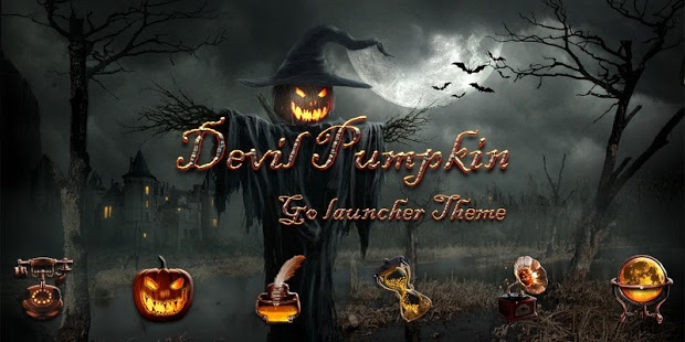 Bộ giao diện Halloween cho điện thoại Android 3