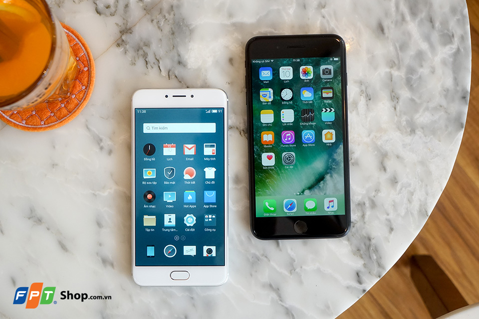 meizu mx6 vs iphone 7 plus 30