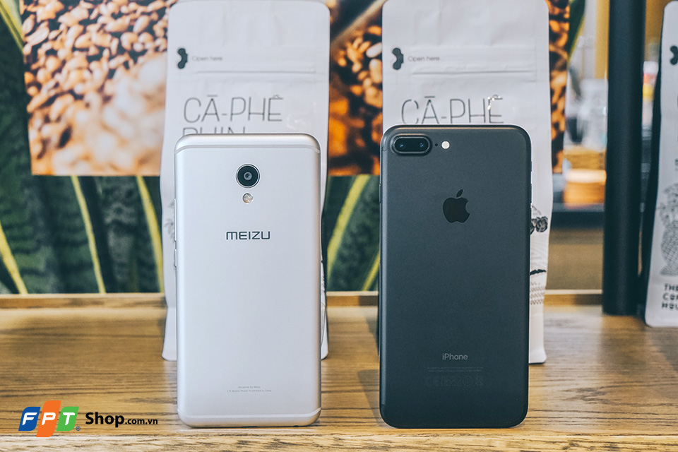 meizu mx6 vs iphone 7 plus 8