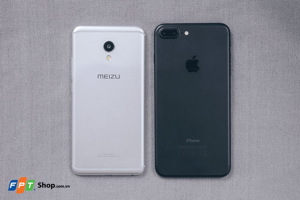 meizu mx6 vs iphone 7 plus 1