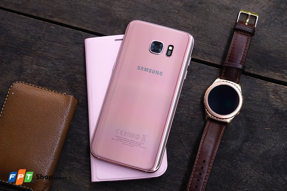 Galaxy S7, S7 Edge Pink Gold