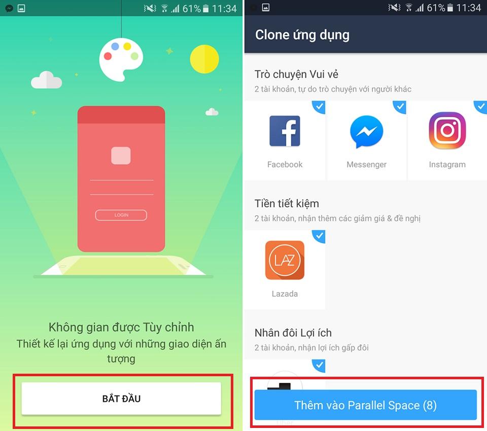 Sử dụng 2 tài khoản Facebook trên cùng một smartphone