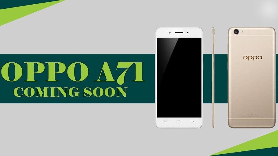 Smartphone selfie OPPO A71 sắp lên kệ tại FPT Shop (Ảnh 2)
