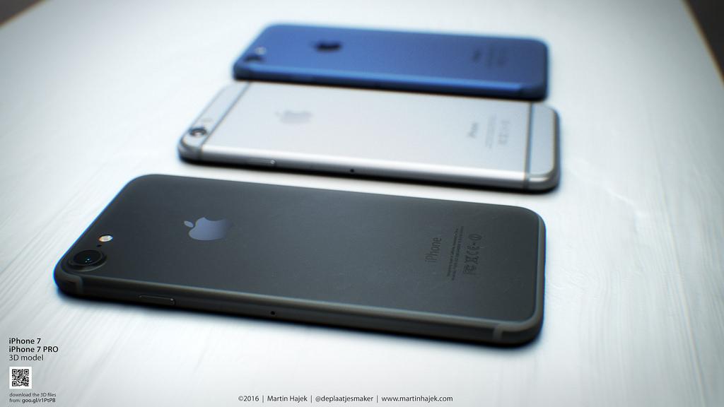Mãn nhãn với bộ ảnh iPhone 7 màu đen có nút home Force Touch 1