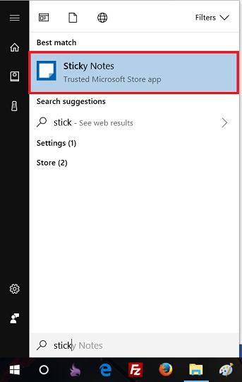 hướng dẫn người dùng cách tạo ghi chú trên desktop win 10