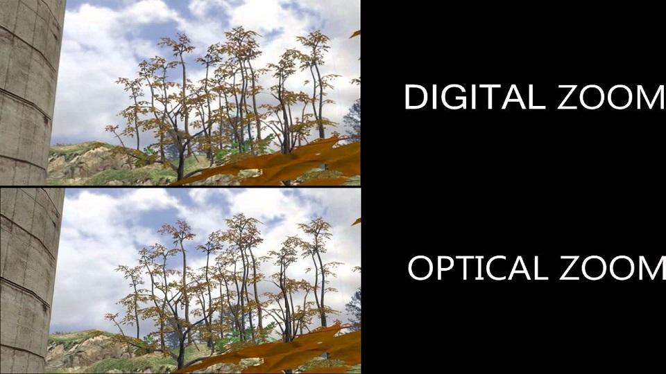 Zoom số là gì? So sánh Zoom quang học và zoom số học