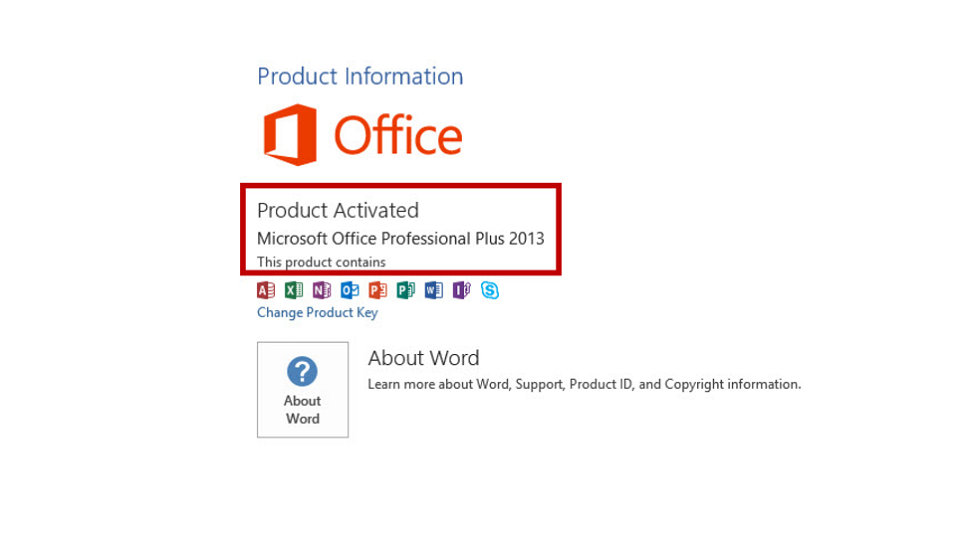 lỗi product activation failed office 2013