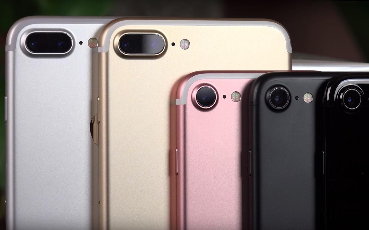 Mở hộp và so sánh 5 màu sắc tuyệt đẹp của iPhone 7 7