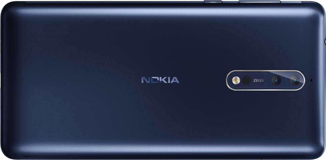 Nokia 8 chính thức trình làng: Chip Snapdragon 835, camera kép 13MP Zeiss, giá 16 triệu