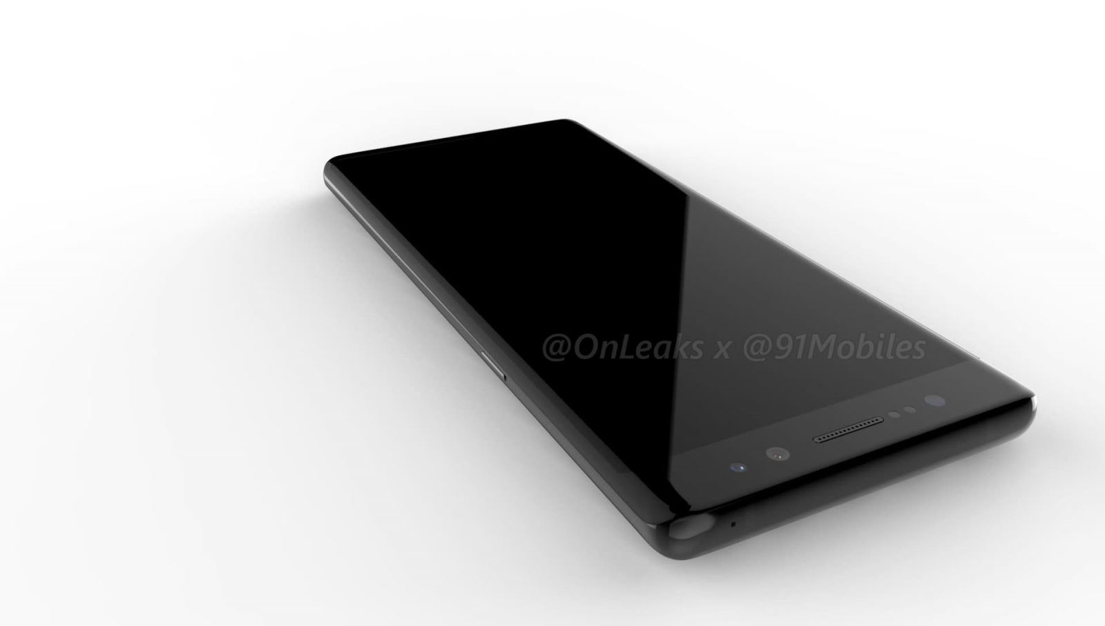 """Galaxy Note 8 bỗng dưng xuất hiện 360 độ với thiết kế hoàn toàn mới, """"thật không thể ngờ được"""""""