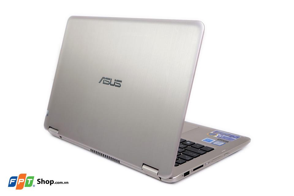 ASUS VivoBook Flip TP301UA có thiết kế nhôm xước phay