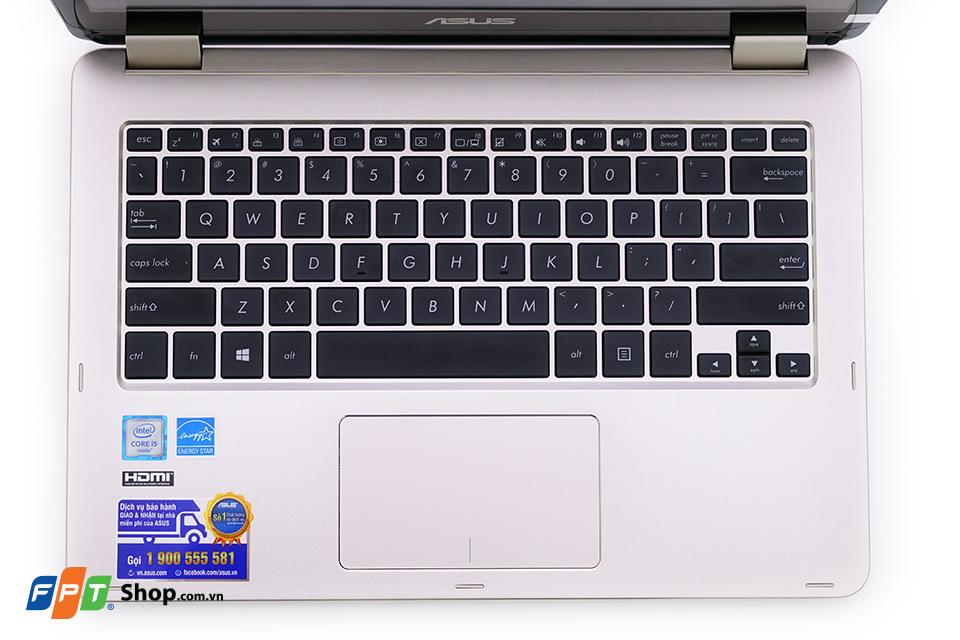 Bàn phím ASUS VivoBook Flip TP301UA có kích thước lớn
