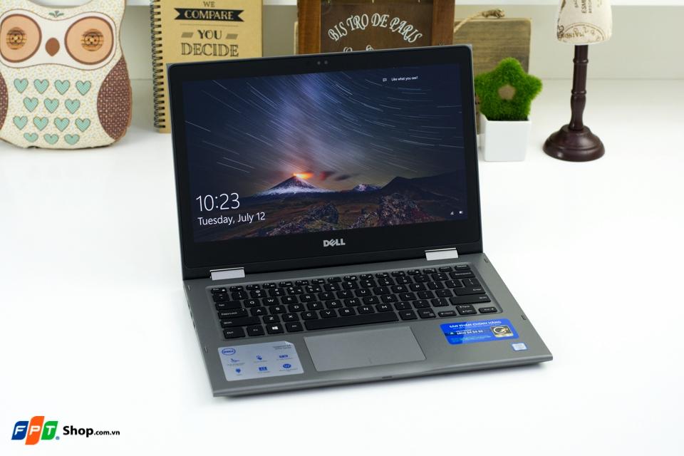 Trên tay nhanh Dell Inspiron 13-5368: Xoay gập 360 độ