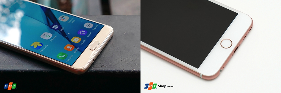 Galaxy A9 Pro vượt trội hẵn so với iPhone 6s plus