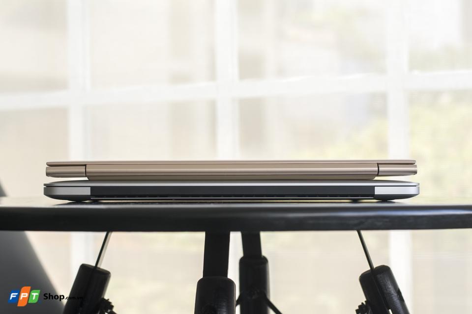 Lenovo ideapad 710S đọ sắc cùng MacBook Pro Retina 13