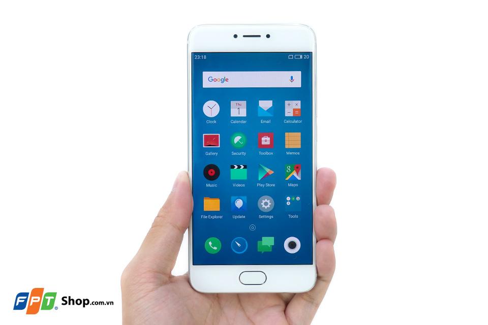 Meizu PRO 6 sử dụng công nghệ AMOLED