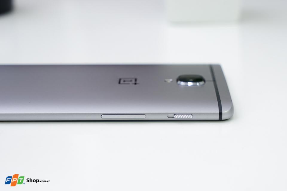 Cần gạt chuyển đổi chế độ âm lượng trên OnePlus 3