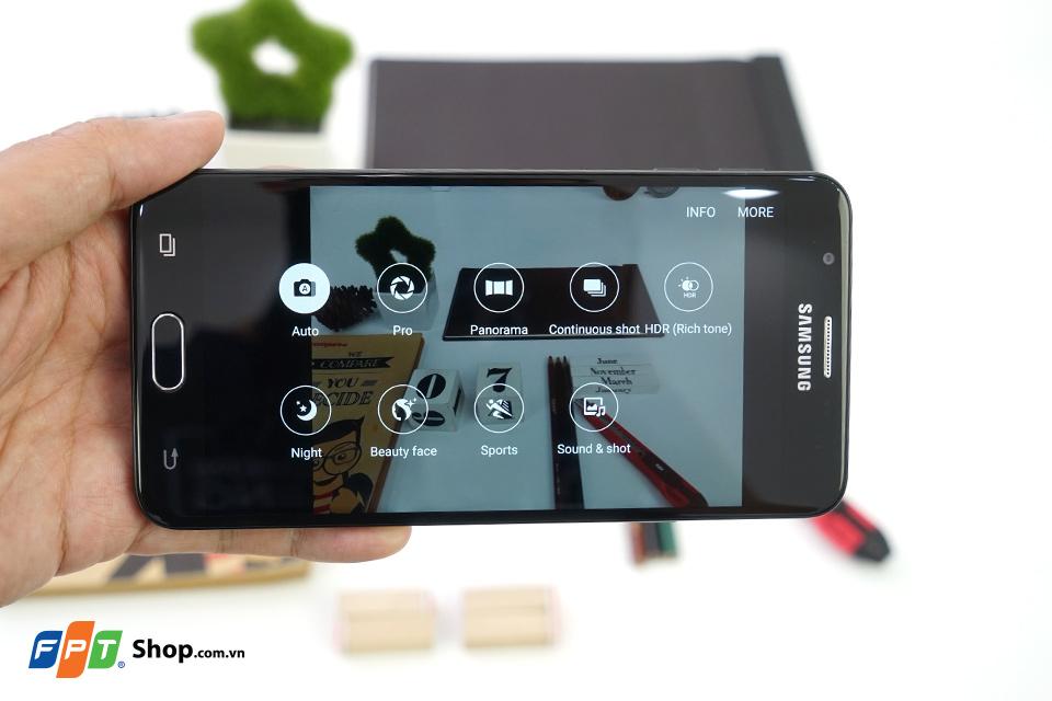 Camera của Galaxy J7 Prime