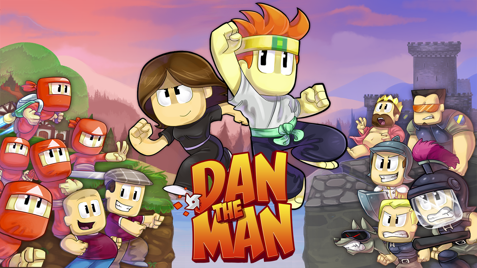 Game Dan The Man