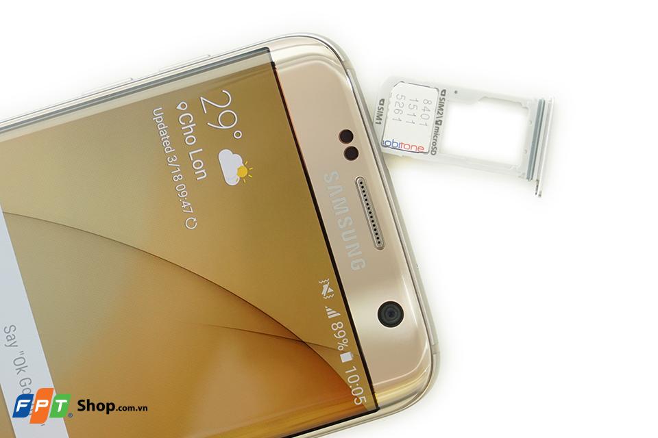 Khay SIM của Galaxy S7 Edge