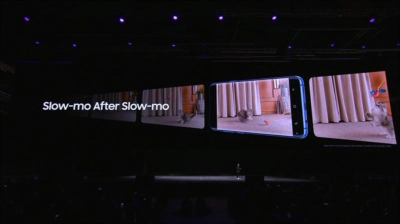Tính năng video slow-mo