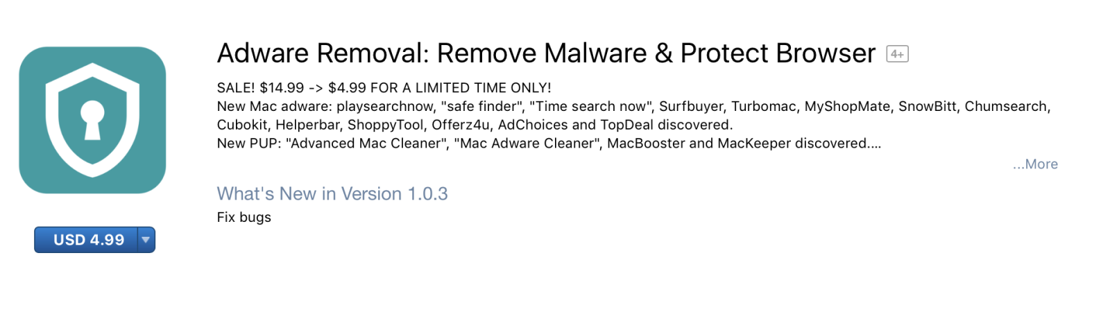 Ứng dụng Adware Removal