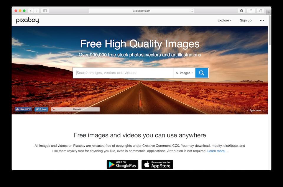 Kho hình ảnh chất lượng cao miễn phí