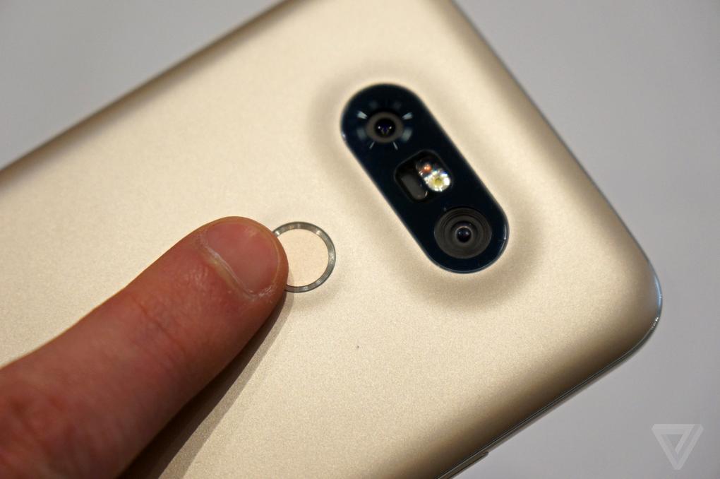 LG G5 đặt cảm biến vân tay riêng ở mặt sau