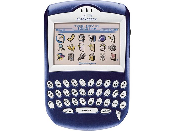 Nhìn lại 12 chiếc điện thoại làm nên tên tuổi của BlackBerry 2