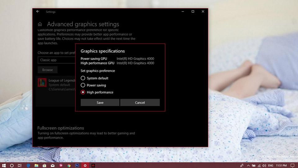 Tăng hiệu suất chơi game trên Windows 10! (Ảnh 5)