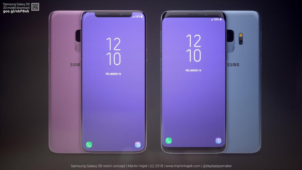 Cùng ngắm nhìn Galaxy S9 phiên bản có