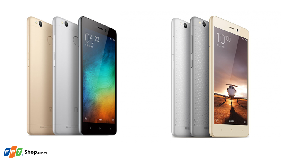 Xiaomi Redmi 3 Series